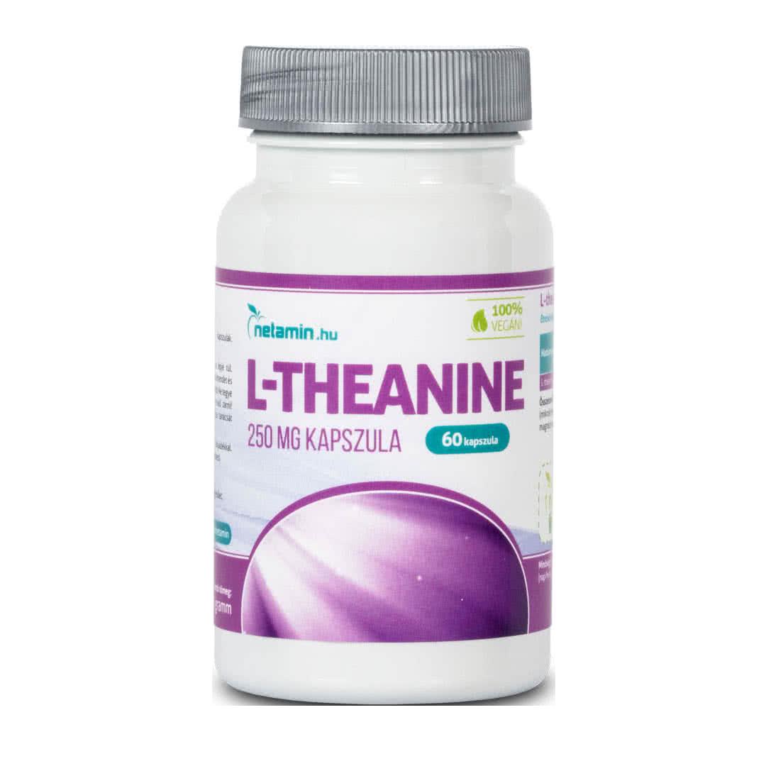 Netamin L-theanine  60 caps.