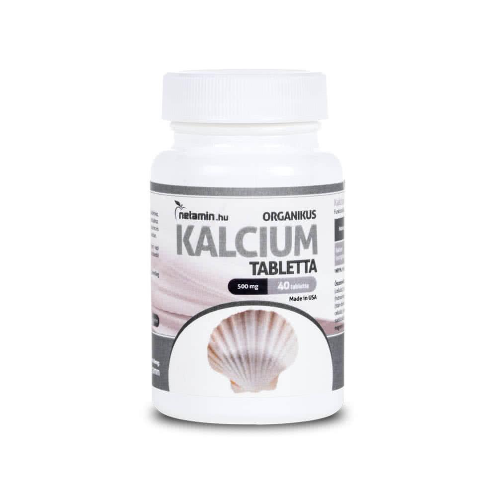 Netamin Organic Calcium 40 tab.