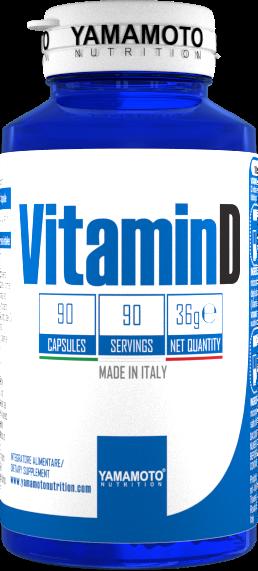 Yamamoto Vitamin D 90 caps.
