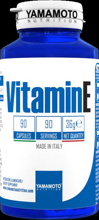 Yamamoto Vitamin E 90 caps.