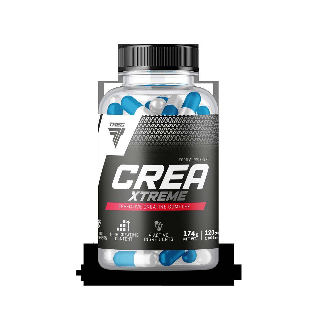 Trec Nutrition Crea Xtreme 120 caps.