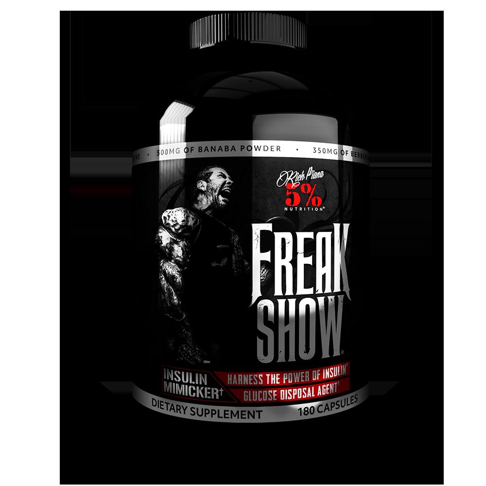 5% Nutrition Freak Show 180 caps.