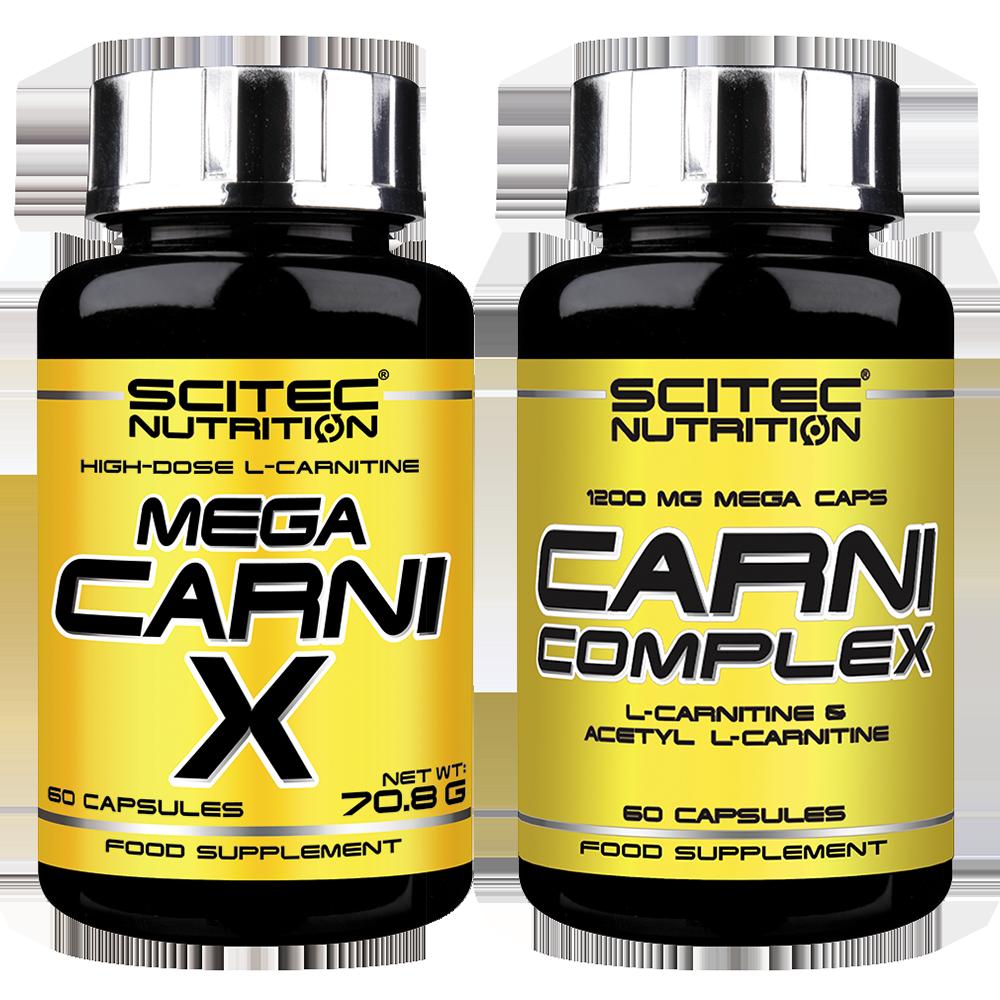 Scitec Nutrition Mega Carni-X + Carni Complex 120 caps.