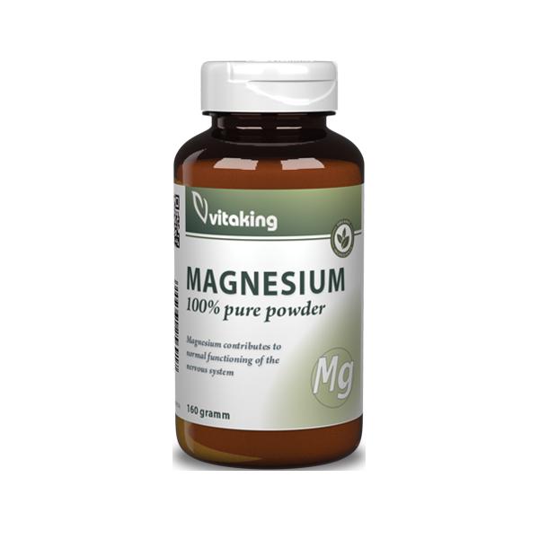 VitaKing 100% Magnesium Citrate Powder 160 gr.