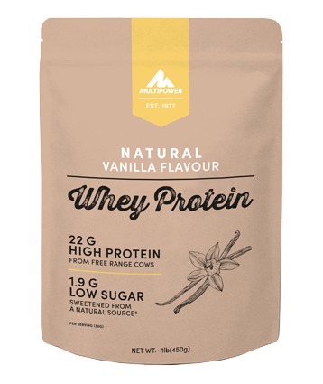 Multipower Natural Whey Protein 0,45 kg