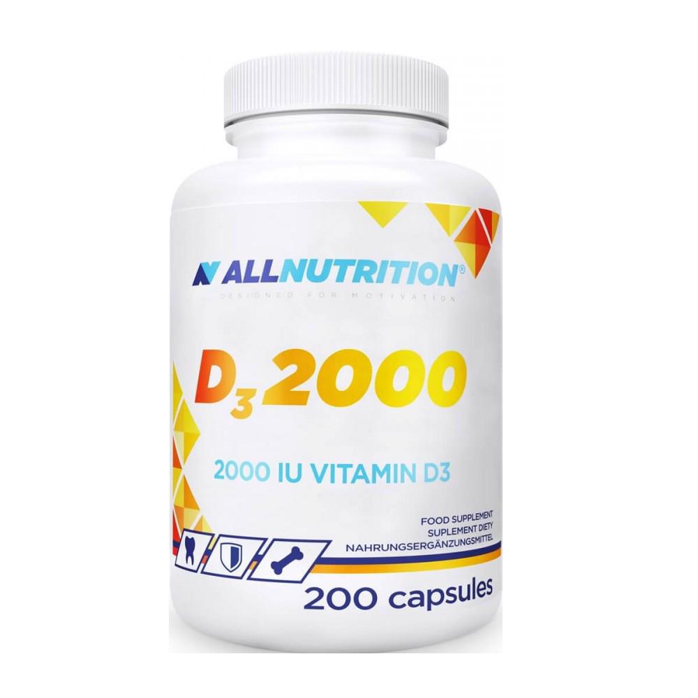 AllNutrition Vitamin D 200 caps.