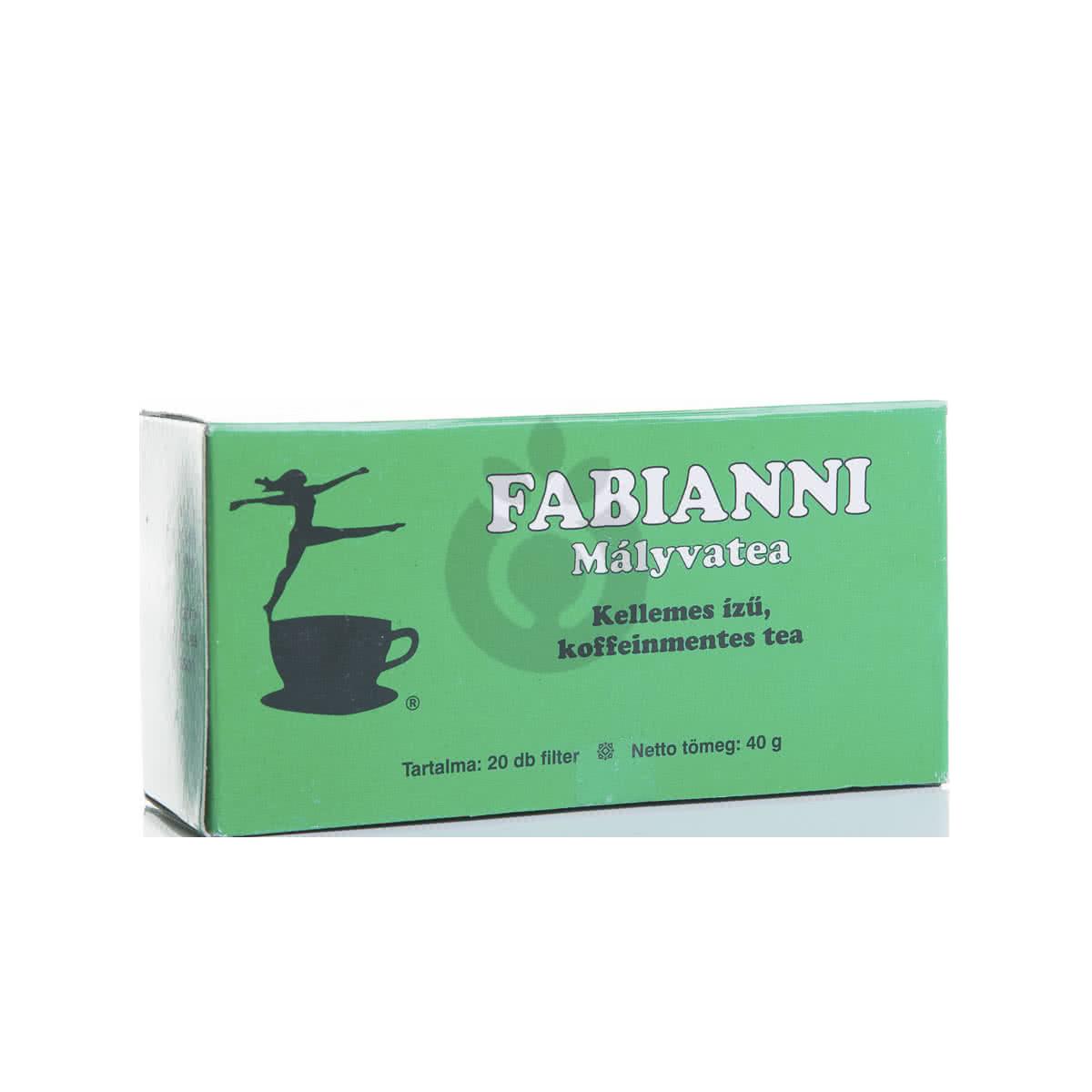Alte suplimente nutritive Fabianni Malloe Tea 20 filtru