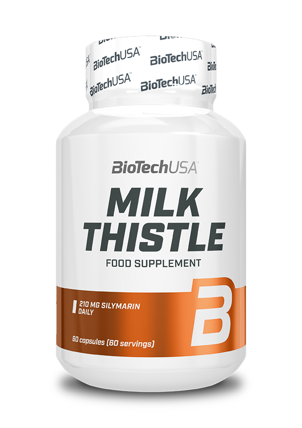 BioTech USA Milk Thistle 60 caps.