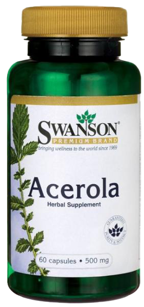 Swanson Acerola 60 caps.