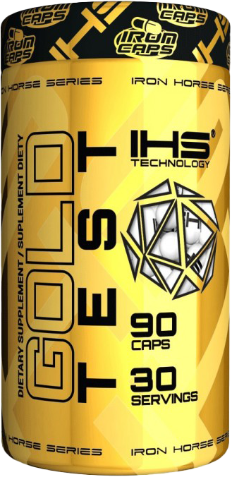 IHS Technologies Iron Gold Test 90 caps.
