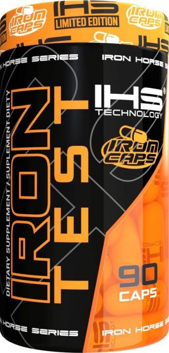 IHS Technologies Iron Test 90 caps.
