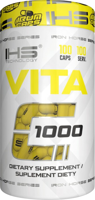 IHS Technologies Vitamin C 100 caps.