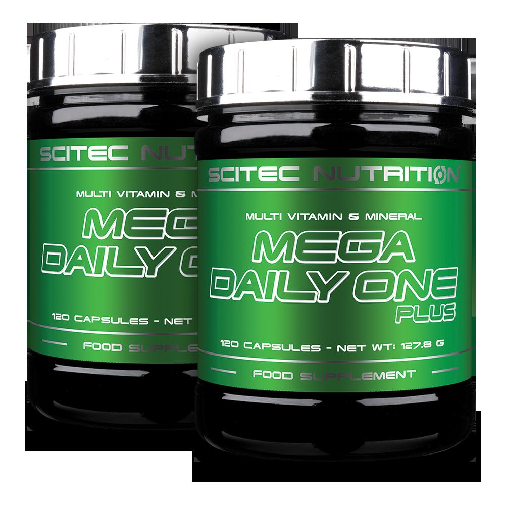 Scitec Nutrition Mega Daily One Plus 1+1 240 caps.