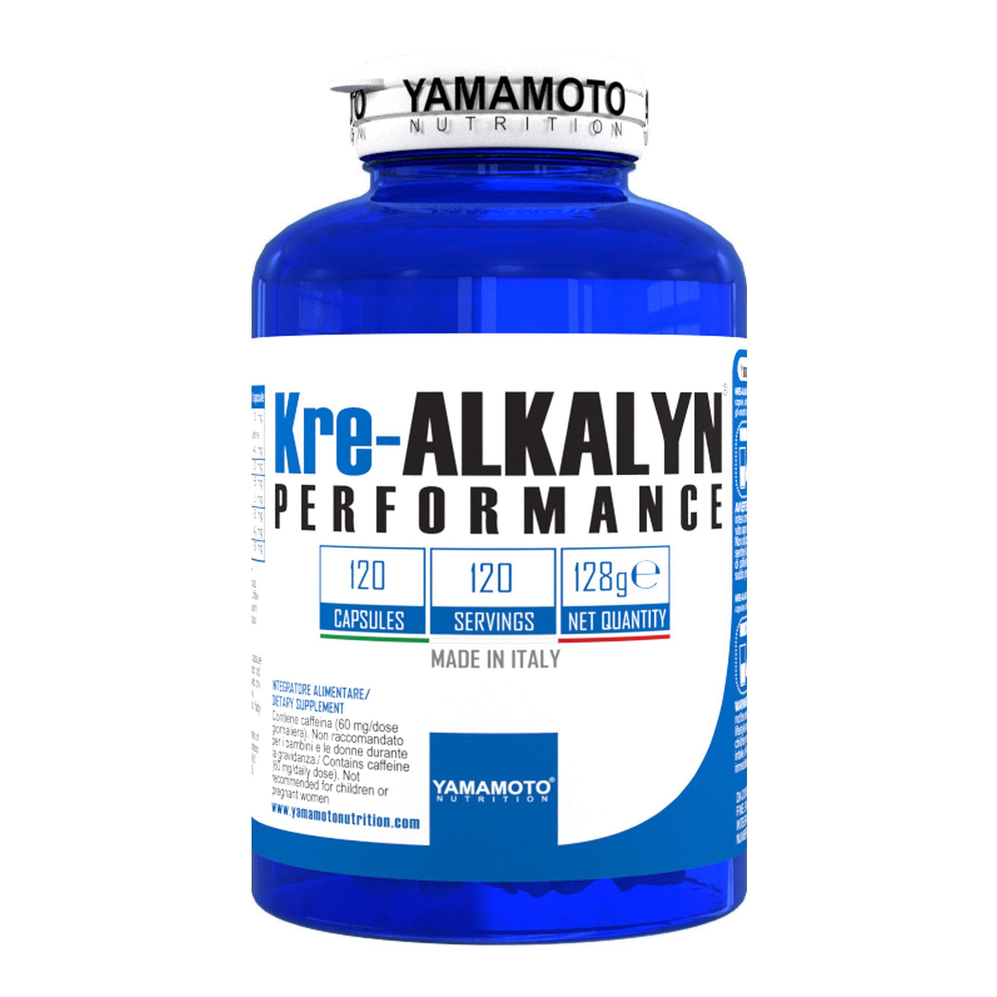 Yamamoto Kre-Alkalyn Performance 120 caps.