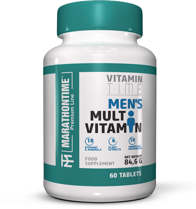 Marathontime Premium Line Mens Multi Vitamin  60 tab.