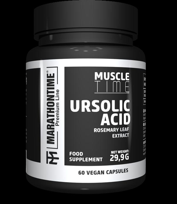 Marathontime Premium Line Ursolic Acid 60 caps.