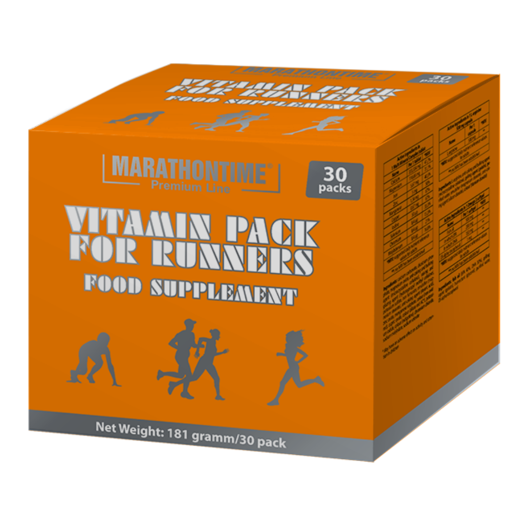 Marathontime Premium Line Vitamin Pack for Runners 30 pac.