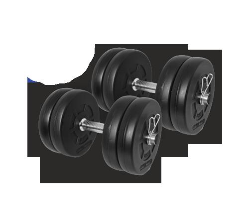 Gazo Fitness Dumbbell set 2x10,5kg set