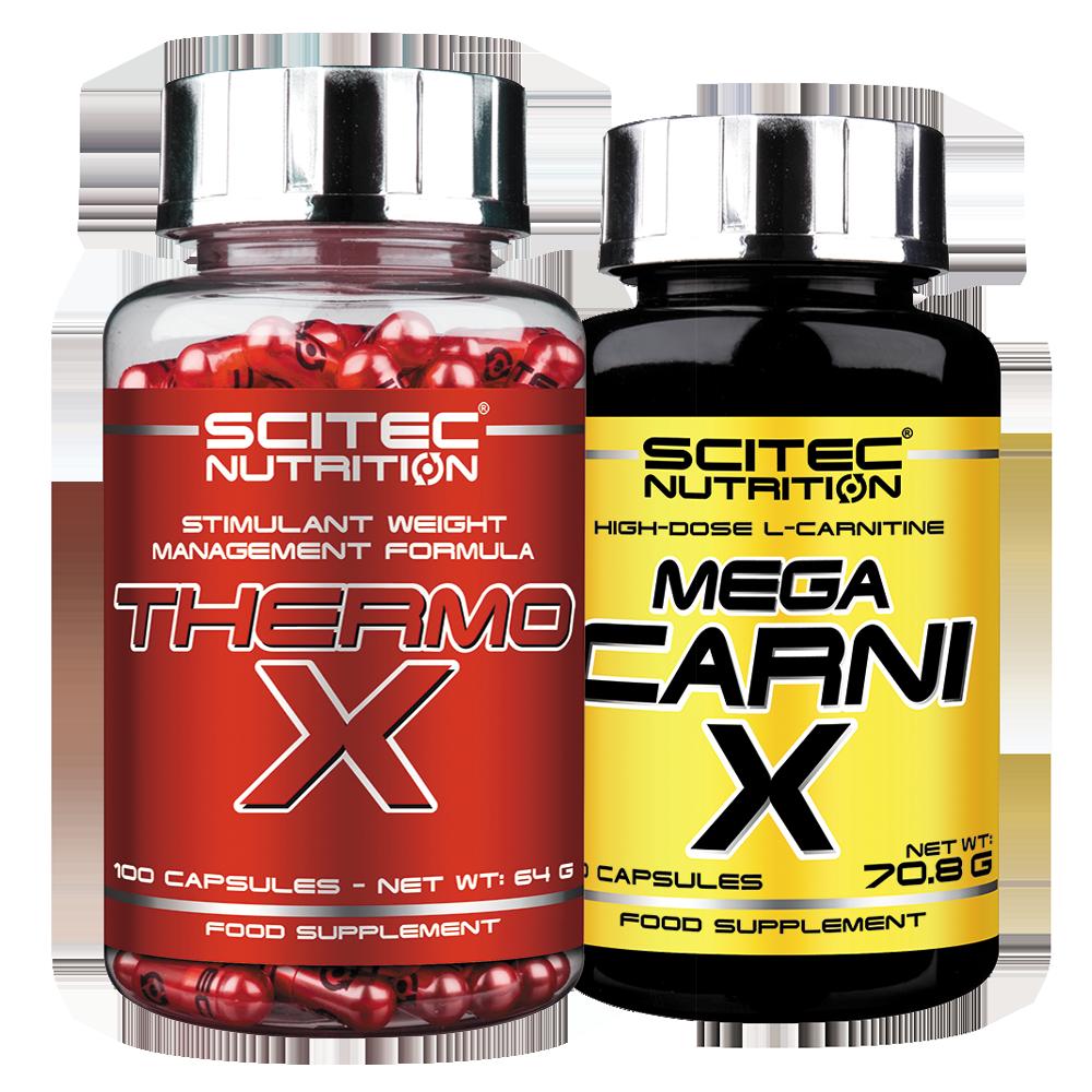 Scitec Nutrition Thermo-X + Mega Carni-X set