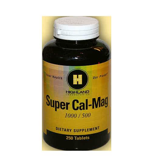 Highland Super Cal Mag 250 tab.