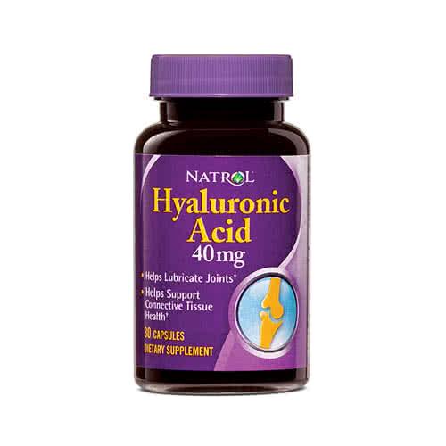 Natrol Hyaluronic Acid 30 caps.
