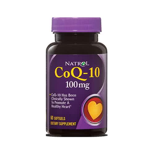 Natrol CoQ-10 (100 mg) 60 caps.