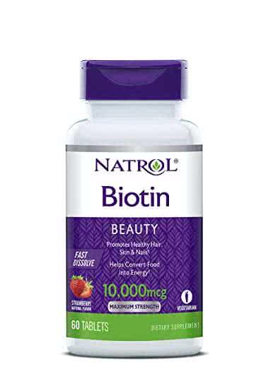 Natrol Biotin Fast Dissolve 60 tabl. de mest.