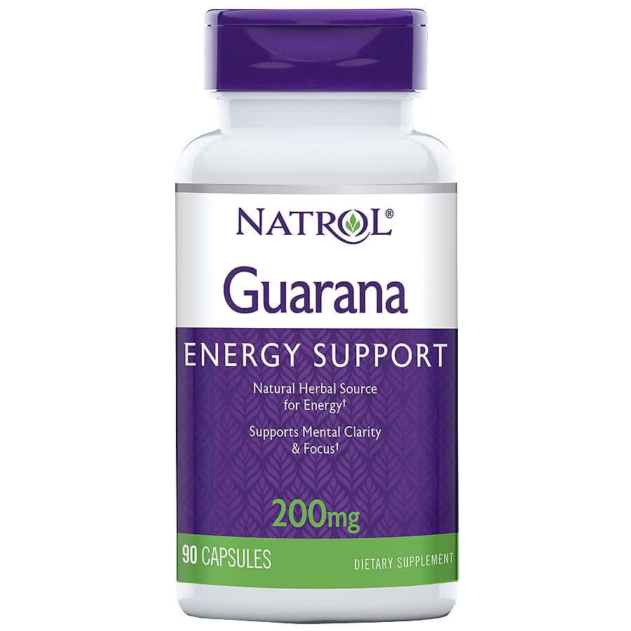 Natrol Guarana 90 caps.