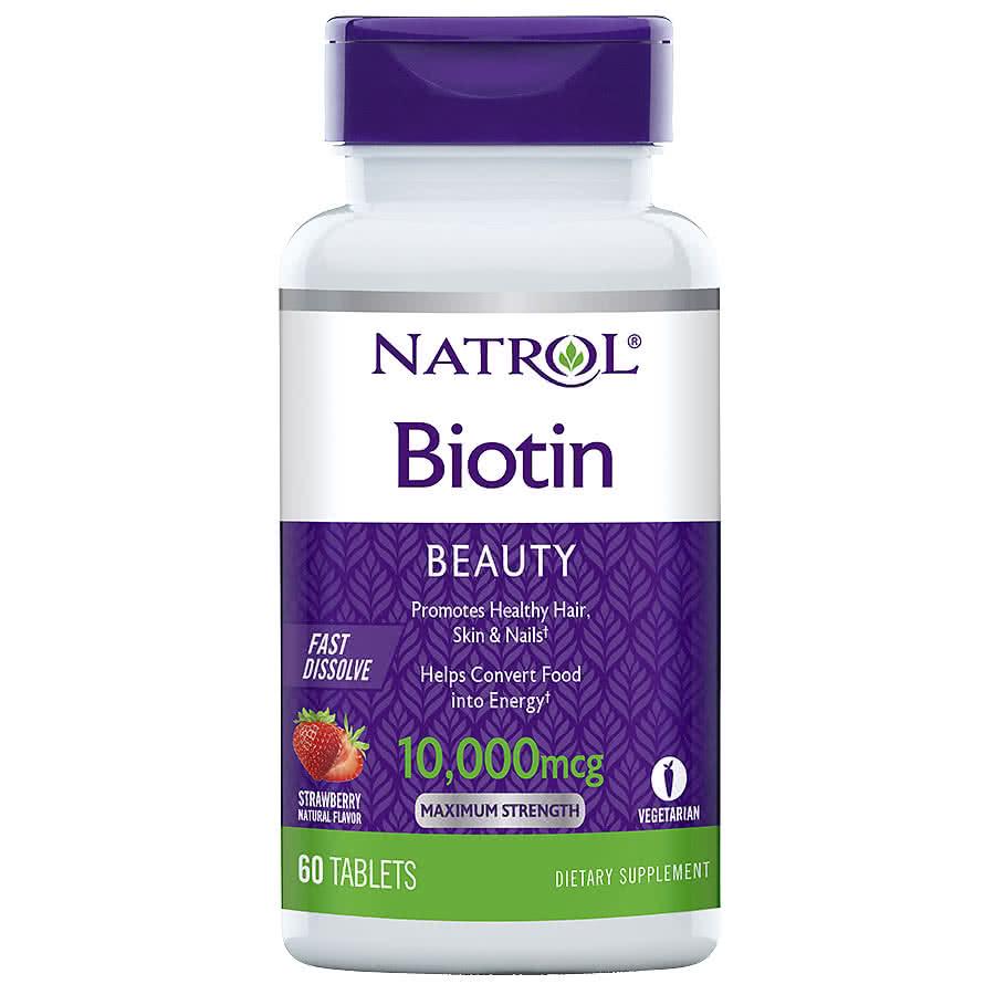 Natrol Biotin 100 tab.
