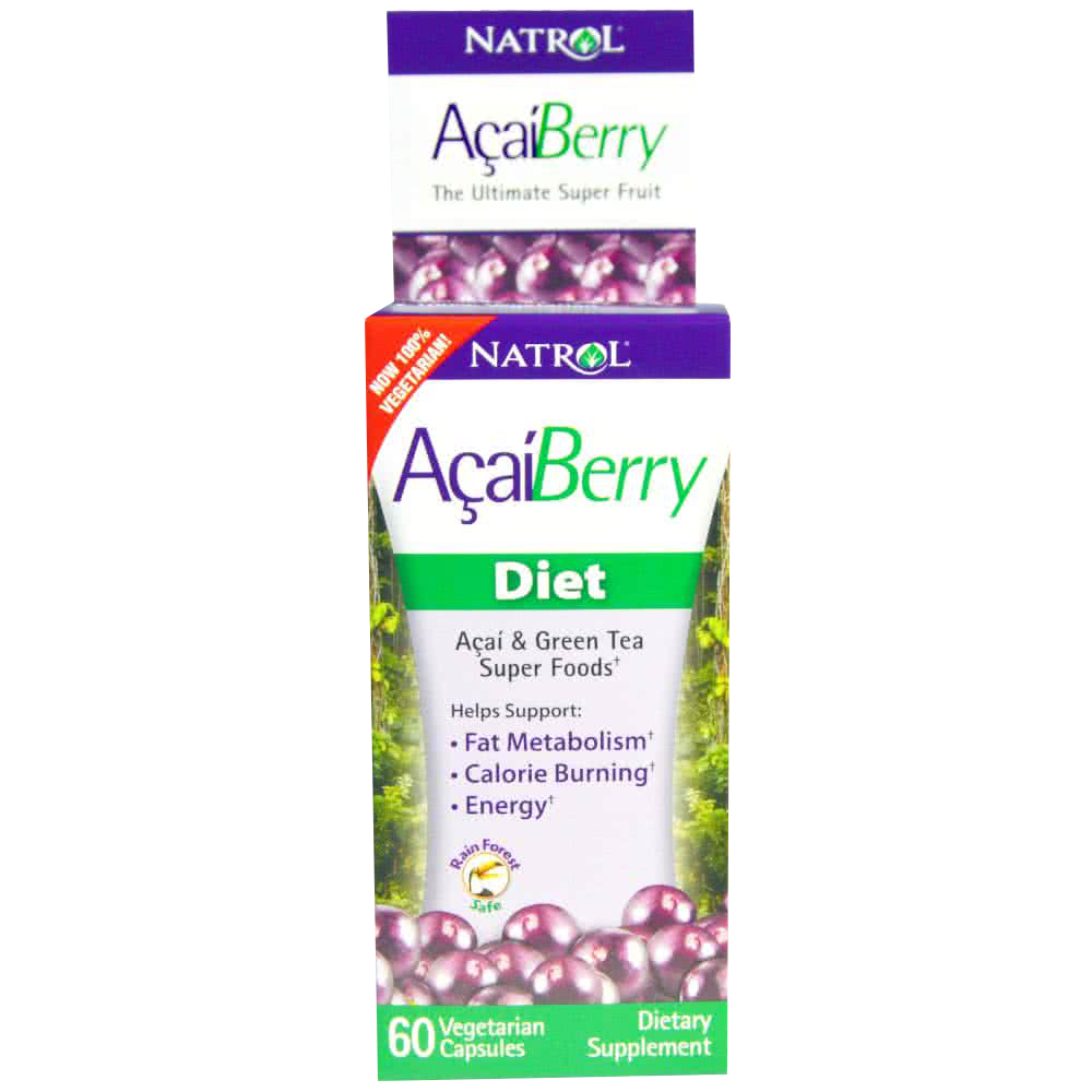 Natrol Acai Berry Diet 60 caps.