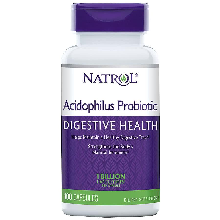 Natrol Acidophilus 100 caps.