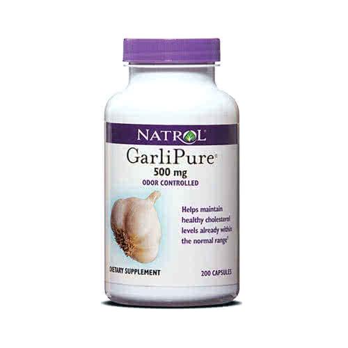 Natrol GarliPure 200 caps.