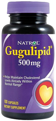 Natrol Gugulipid 100 caps.