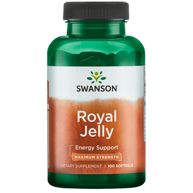 Swanson Royal Jelly 100 caps.