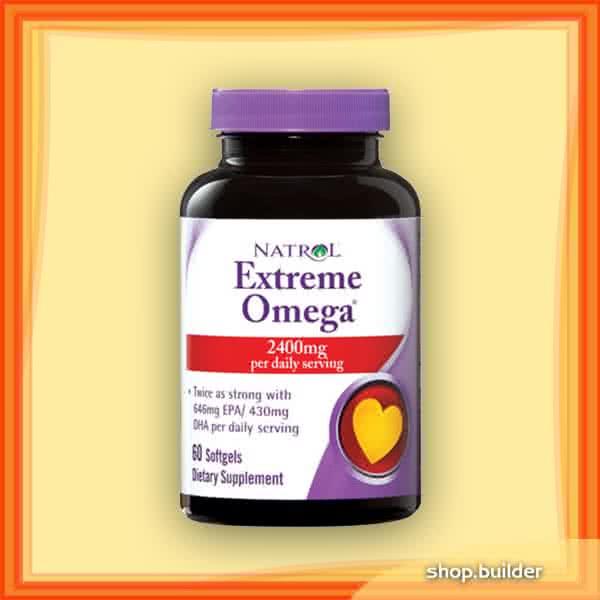 Natrol Extreme Omega 60 g.k.