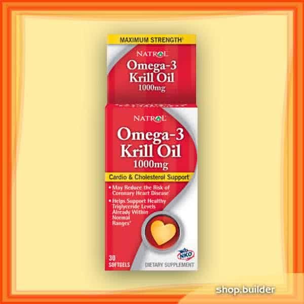Natrol Omega-3 Krill Oil 30 g.k.