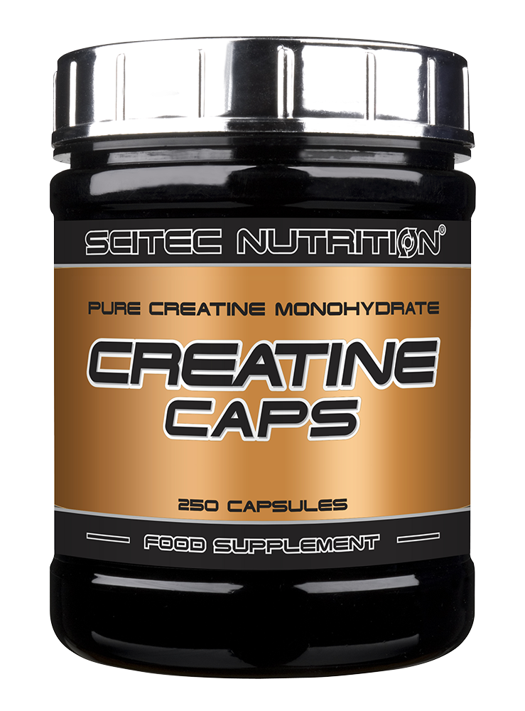 Scitec Nutrition Creatine Caps 250 caps.
