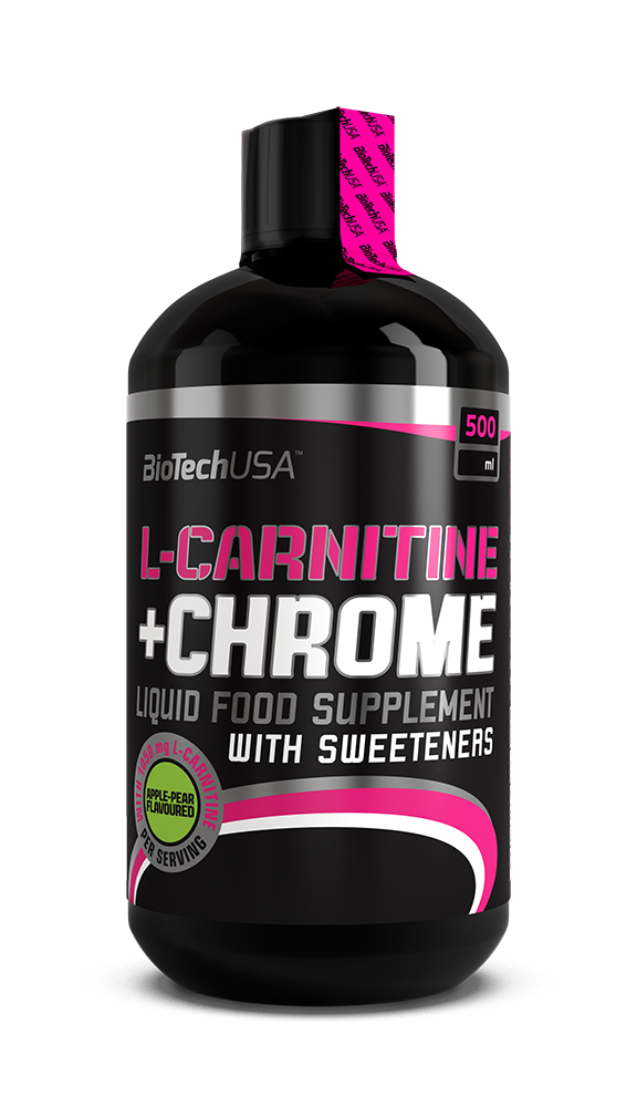 BioTech USA Liquid L-Carnitine + Chrom 0,5 lit.
