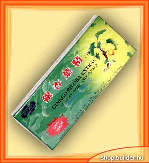 Dr. Chen Ginkgo Biloba Extract 10 amp.