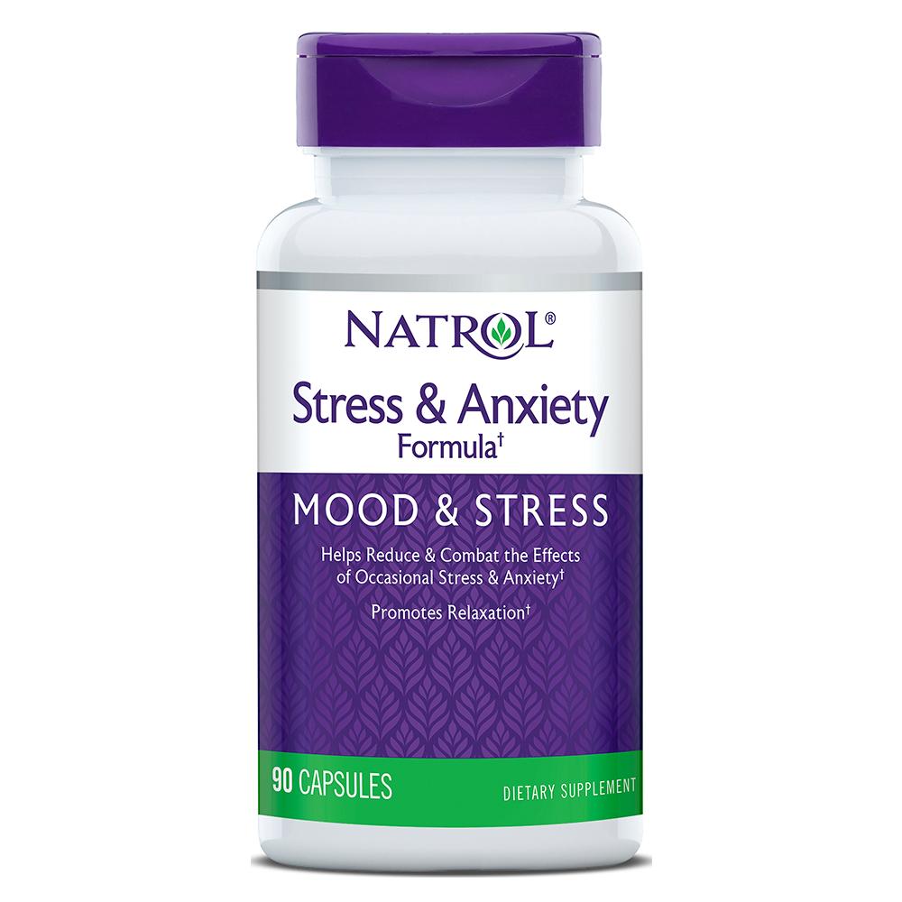 Natrol Stress-Anxiety-Formula (SAF®) 90 caps.