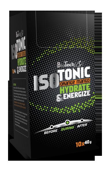 BioTech USA IsoTonic 10x40 g