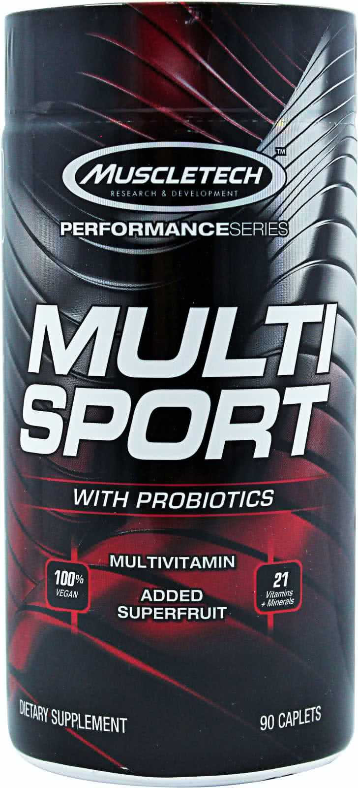 MuscleTech Multi Sport Probiotic 90 caps.