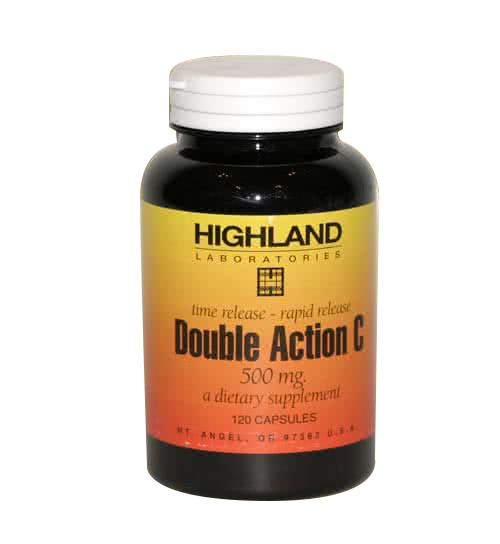 Highland Double Action C (500 mg) 120 caps.
