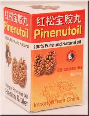 Dr. Chen Pinenut Oil Caps 60 caps.