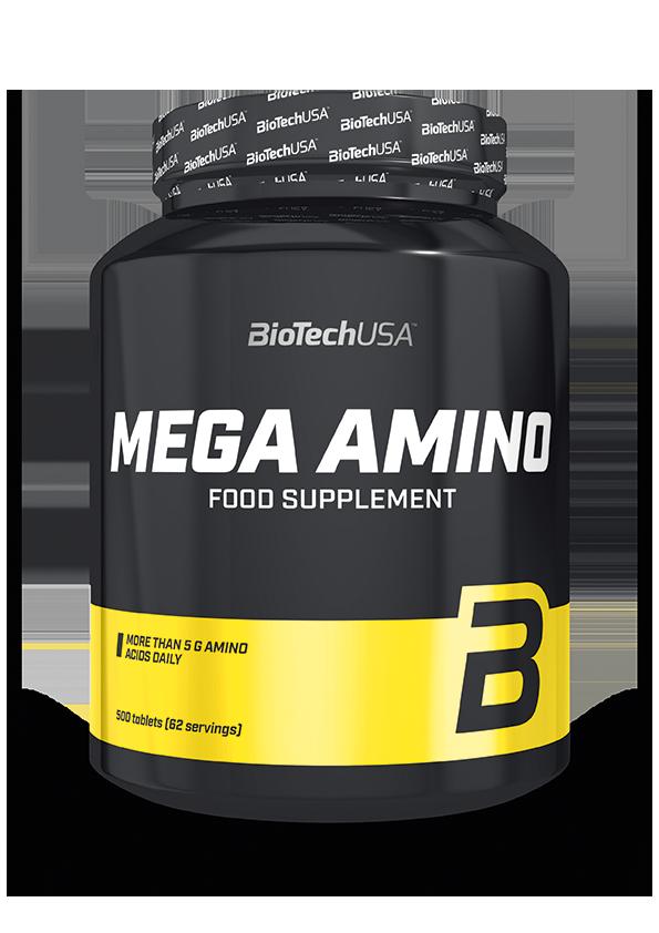 BioTech USA Mega Amino 500 tab.