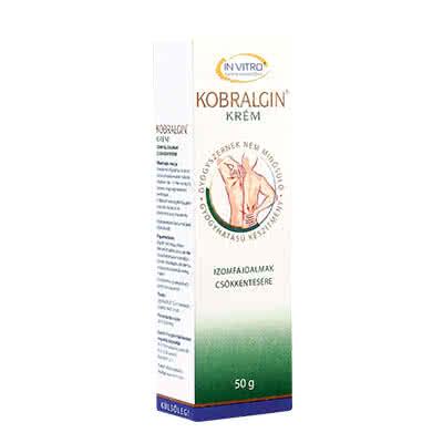 In Vitro Kobralgin Cream 50 gr.