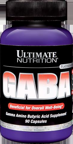 Ultimate Nutrition GABA 90 caps.