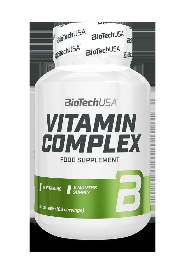 BioTech USA Vitamin Complex 60 caps.