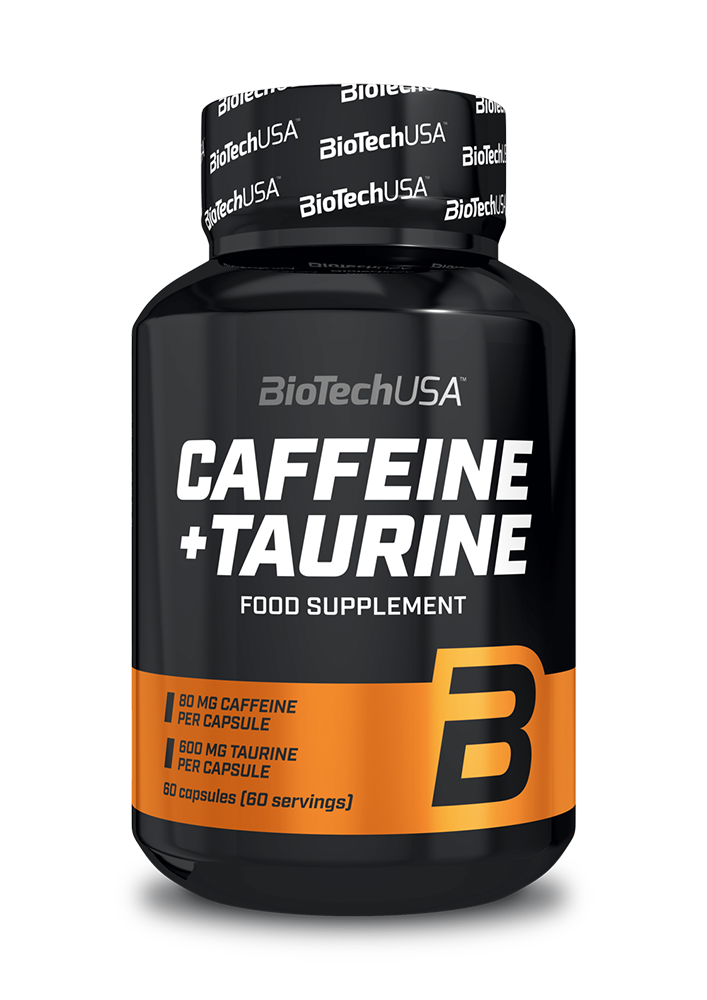 BioTech USA Caffeine + Taurine 60 caps.