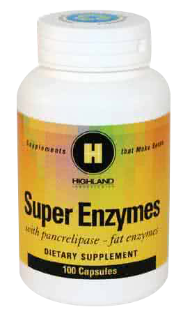 Highland Super Enzymes+ 100 caps.